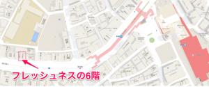 ここち恵比寿店地図